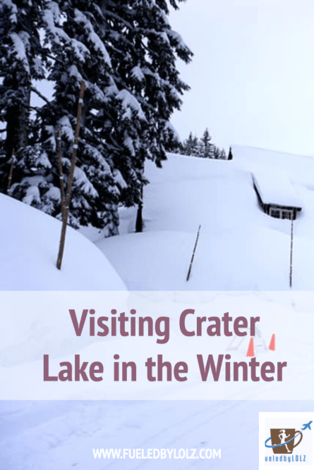 Visiting Crater Lake in the Winter