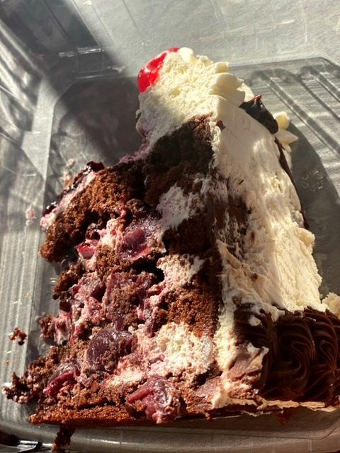 Rick's Dessert Diner (Sacramento) black forest cake