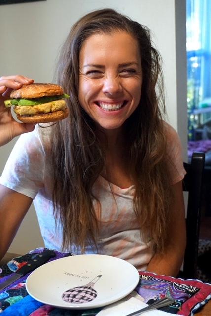 Easy Chickpea Burger Recipe