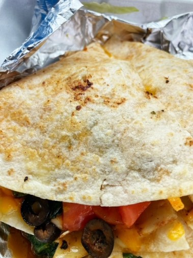 Route 66 Classic Grill (Canyon Country, CA) quesadilla