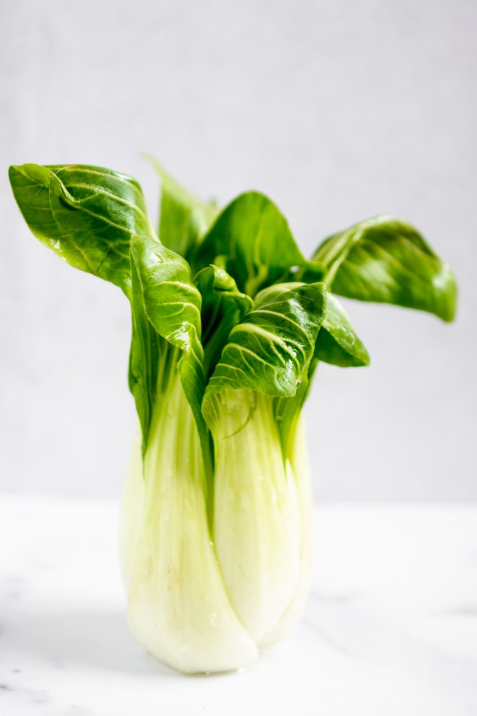 bok choy for easy vegan stir fry