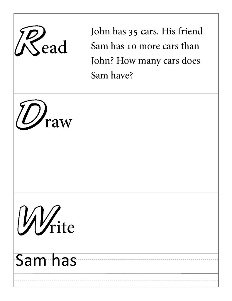 Draw Write Paper Primary