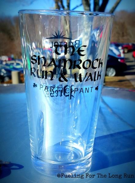 Shamrock Run & Walk - Finisher Glass