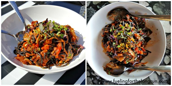 Rooftop 120 - Squid Ink Pasta