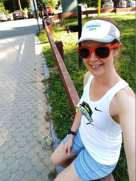 Solstic Sprint 5k - Selfie