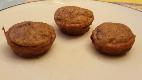 Strawberry Rhubarb Mini Muffins