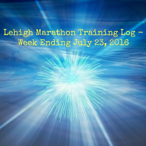 Lehigh Marathon Training