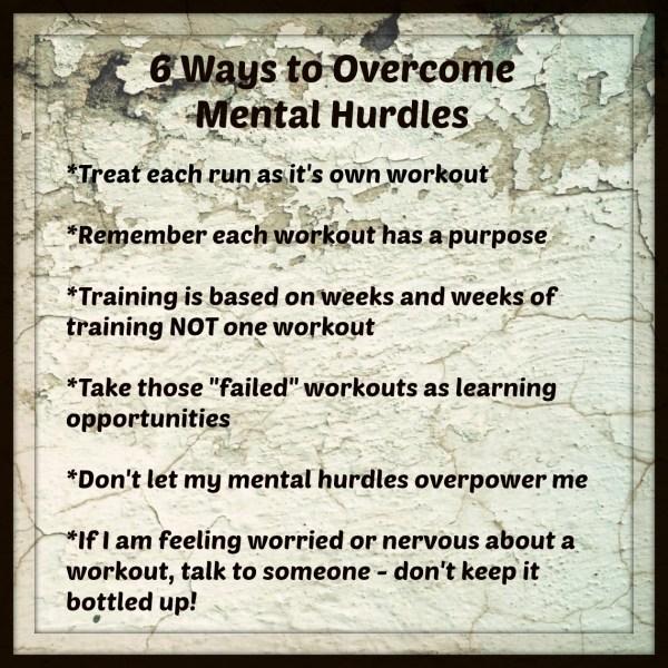Mental Hurdles