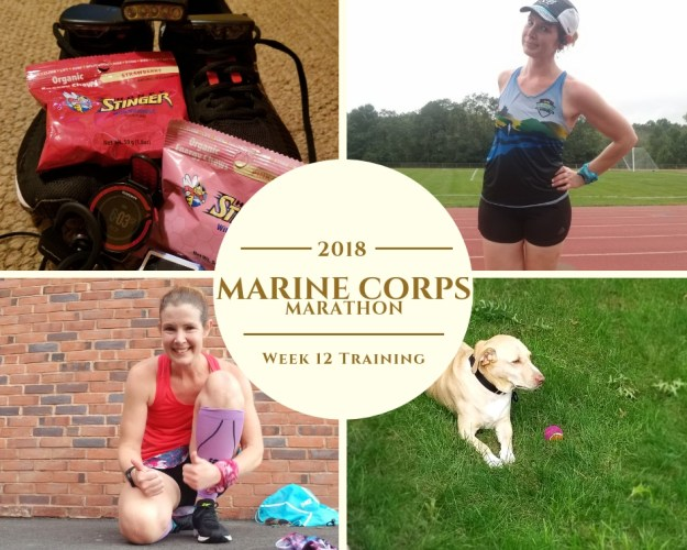 Marine Corps Marathon Training - Week 12