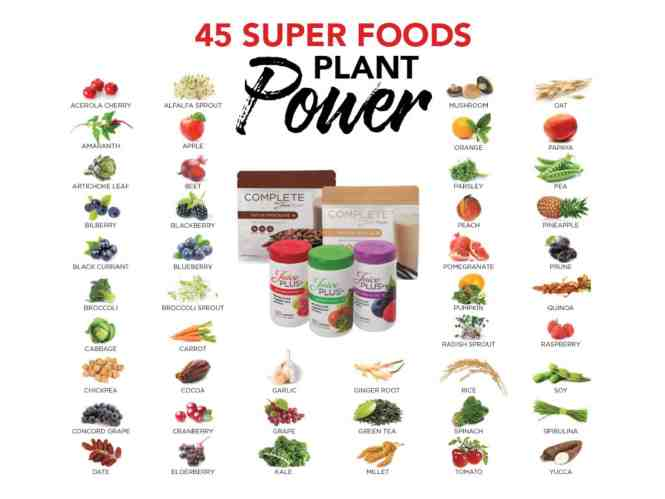 45 Super Foods Plant Power