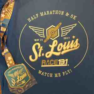 Race 13.1 T-shirt & medal