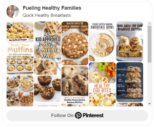 Quick Healthy Breakfasts Pinterest Board