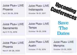 Juice Plus Live Conferences