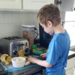 One Ingredient Ice Cream - Prepping Bananas