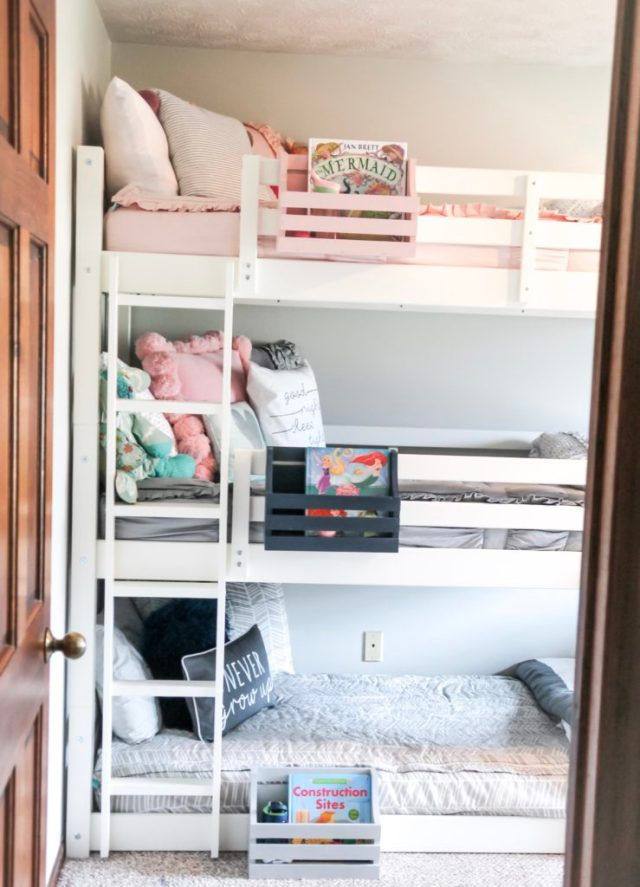 Big Kid Room Reveal With A Triple Bunk Bed Fueling Mamahood