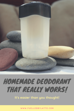 Homemade deodorant that really works!