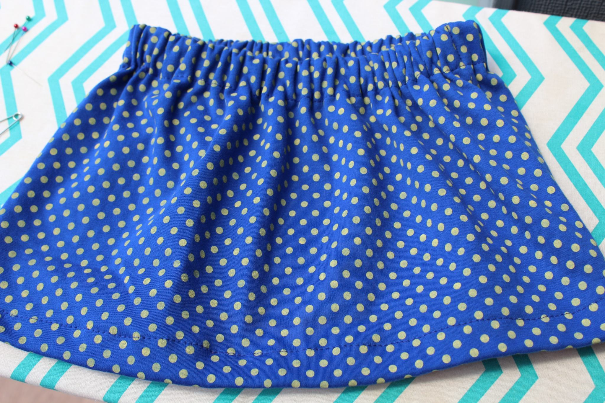 How to Sew a Simple Skirt for Kids