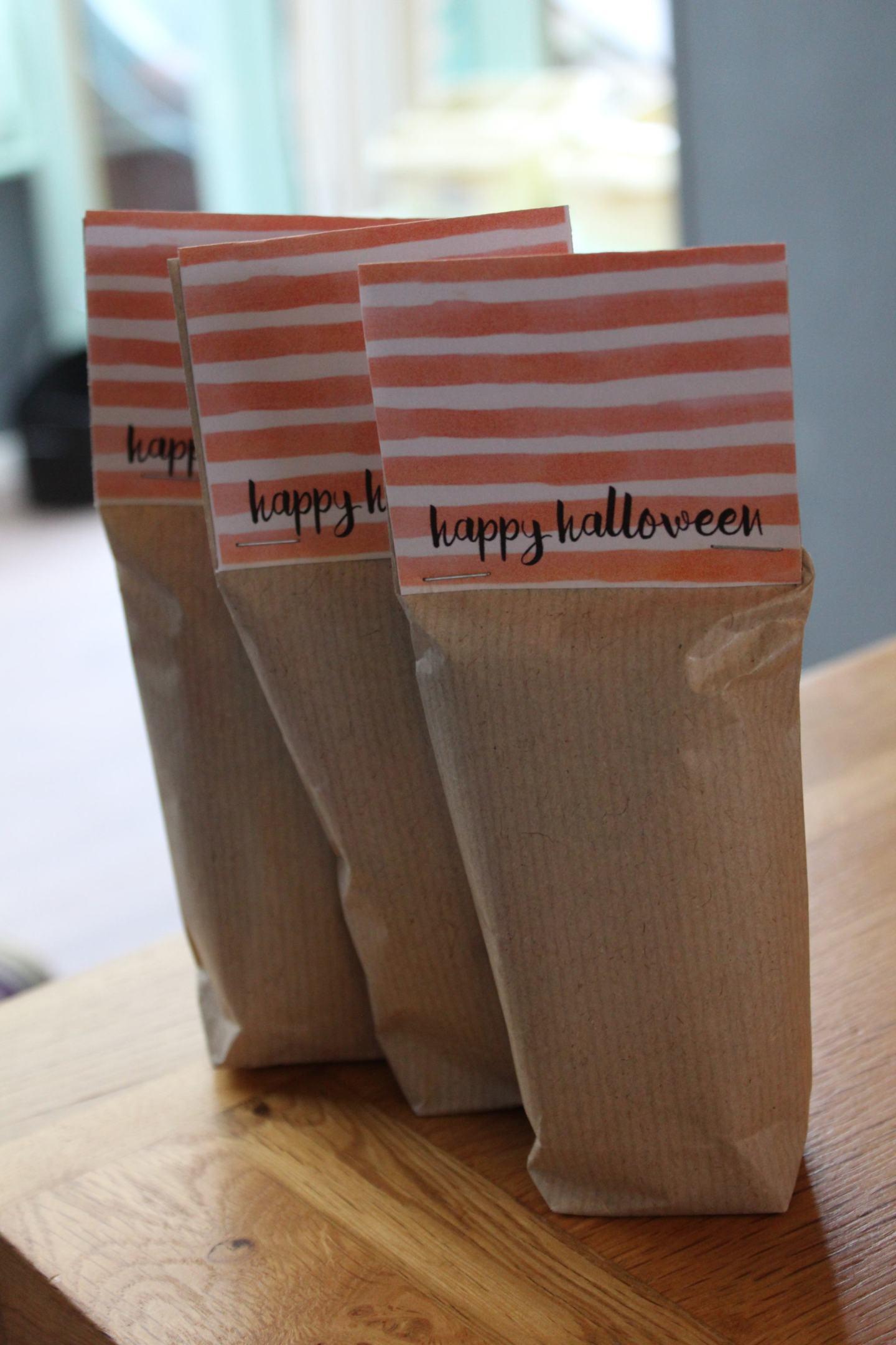 DIY Eco Friendly Party Bags