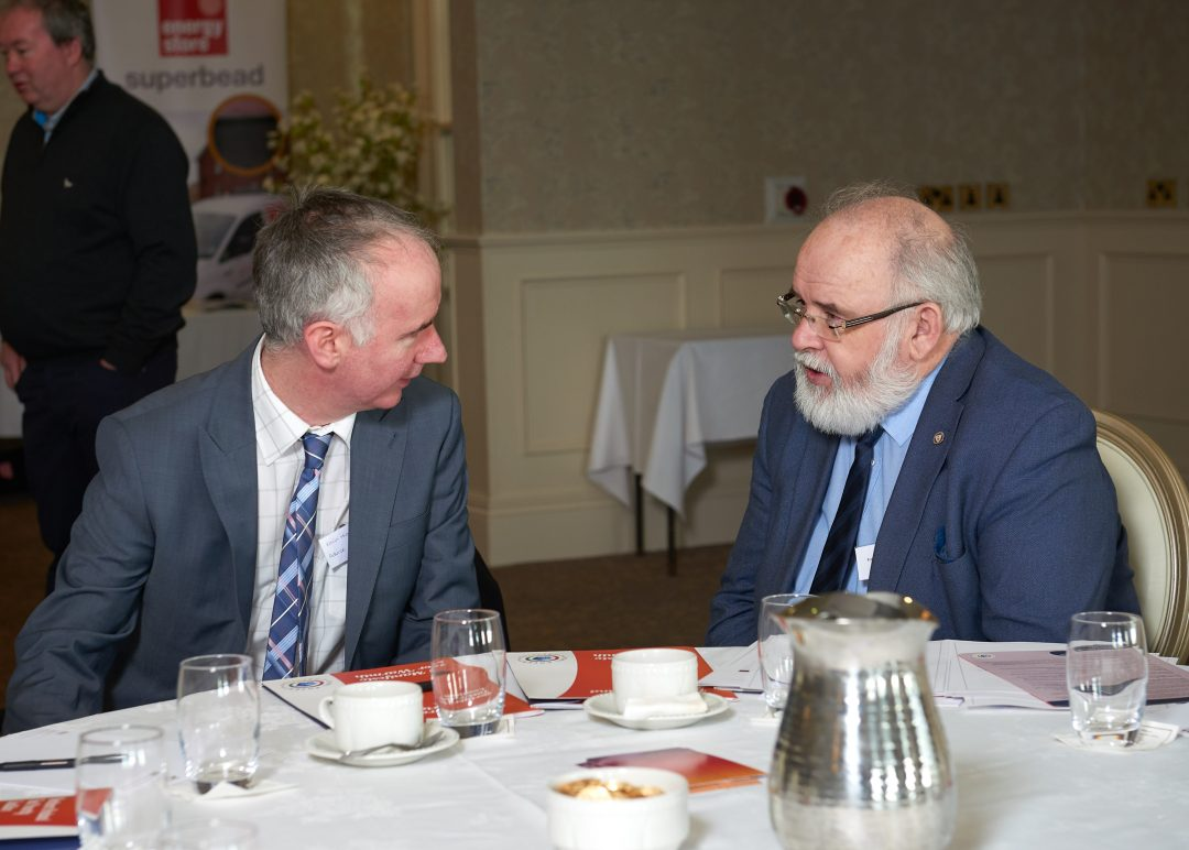 Kevin Higgins and Francie Molloy MP
