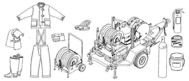 Figure 2-11. Fire Suppression Equipment Set
