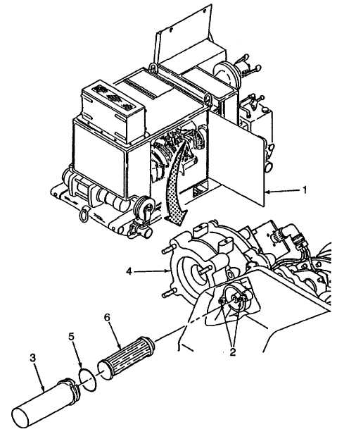 Figure 2-75. Engine Oil Filter Replacement