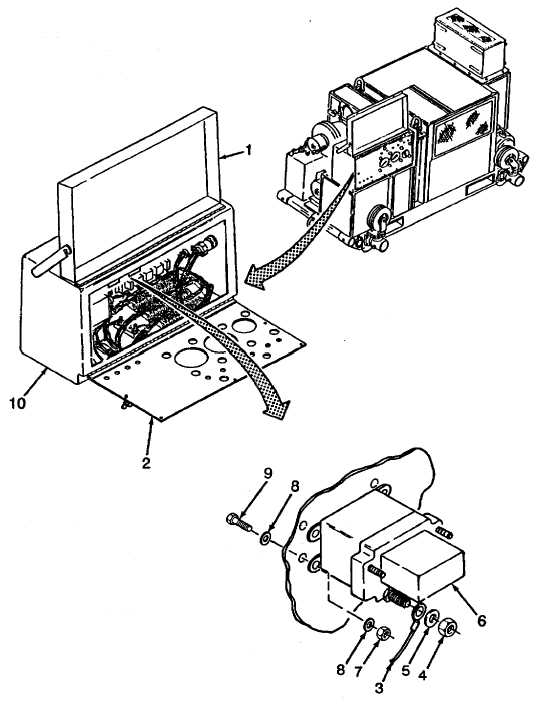 Figure 2-100. Relays K2 and K6 Replacement