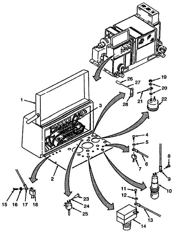 Figure 3-53. Control Panel (Components) Wiring Harness