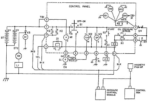 Figure 1-4.1. Schematic Diagram for Model 350 PAFN (Sheet