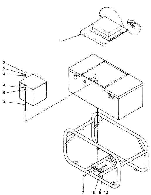 Figure 4-28. Battery Holddown Repair