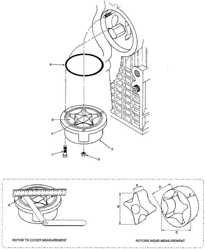 Figure 6-13. Oil Pump Removal