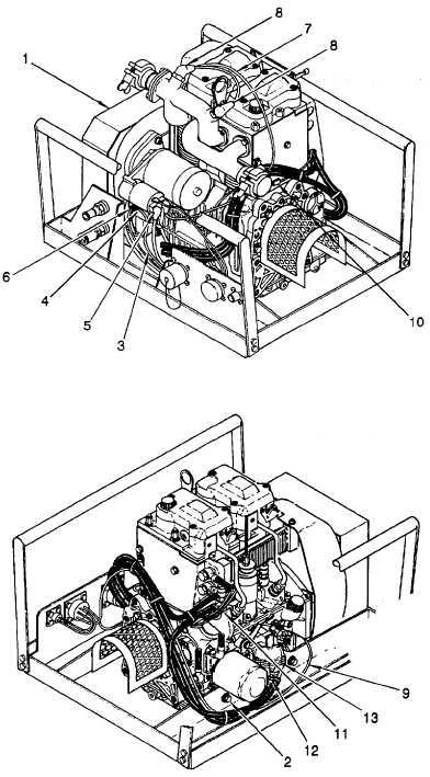 Figure 6-52. Installation of Engine in Engine Module