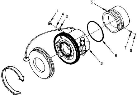 Figure 4-8. Flange Mounted Unisex Coupling Replacement