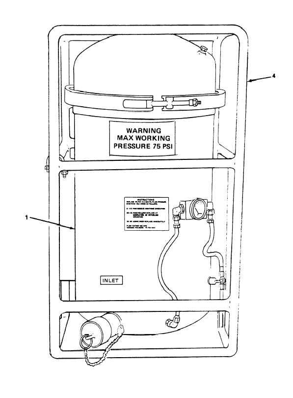 Figure 1-3. Filter/Separator Assembly (Sheet-1 of 2)