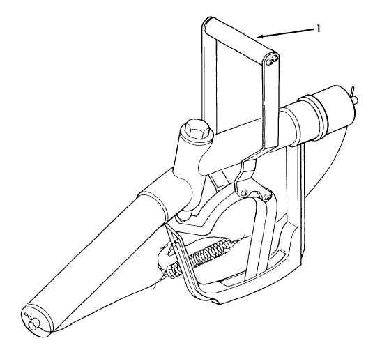 Figure 2-2 . Gravity Fill Adapter Nozzle Controls