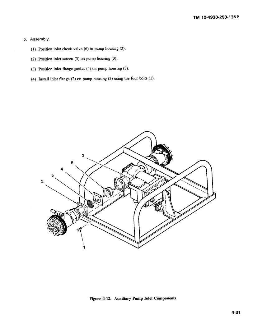 Figure 4-12. Auxiliary Pump Inlet Component