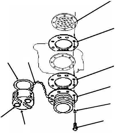 Figure 14. Berm Liner Drain Fitting Assembly (GTA Models)