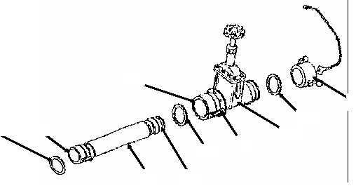 FILLER/DISCHARGE GATE VALVE (GTA MODEL), HOSE ASSEMBLY