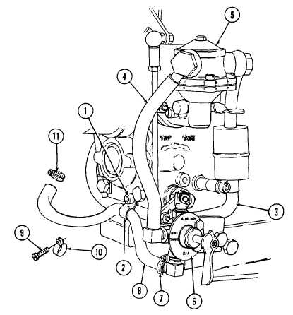 REPLACE FUEL FILTER , FUEL PRESSURE LINE, HOSES, AND