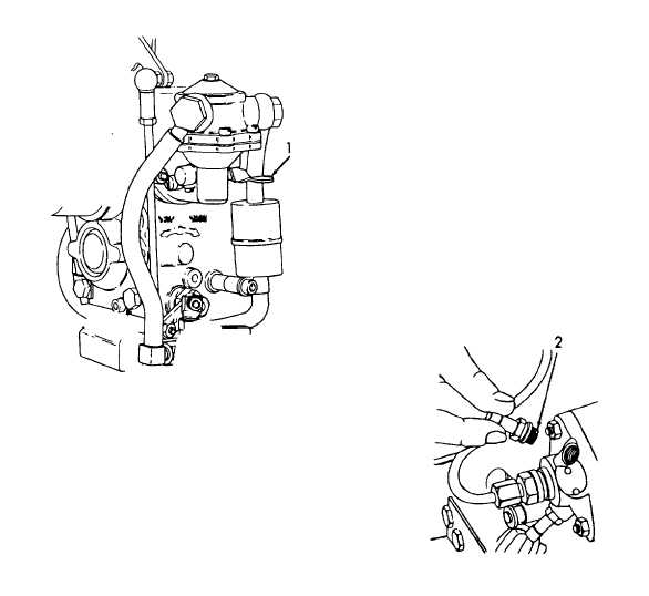 Figure 4-5. Bleeding Fuel System