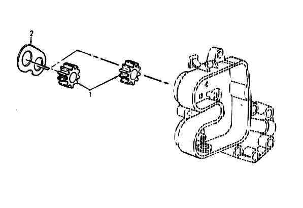 Figure 18. Oil Pump Gear and Wear Plate