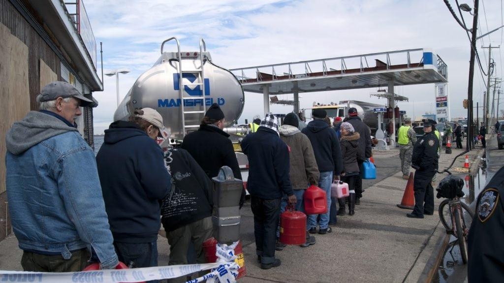 Fuel Relief Fund – Hurricane Sandy