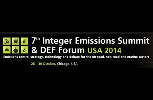 7th Integer Emissions Summit & DEF Forum USA 2014