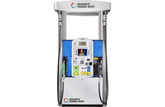 Gilbarco Veeder-Root Dispenser Payment Terminal That Is PCI PTS 4.0 Certified and Supports EMV Payments