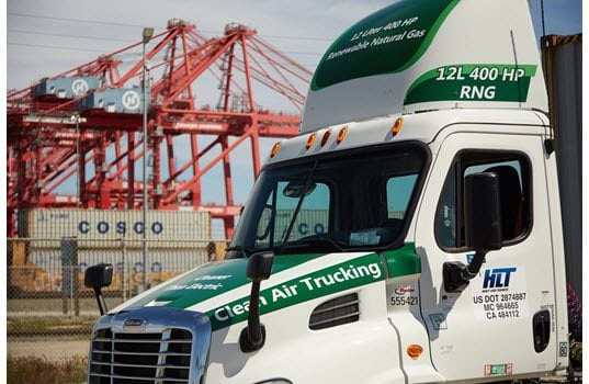 Zero-Emissions Natural Gas Engine Now Operating at Ports of Long Beach and Los Angeles
