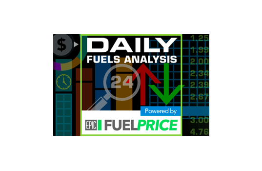 August 8, 2017: Diesel Prices Rise for Sixth Consecutive Week, While Gasoline Prices Rise for Third