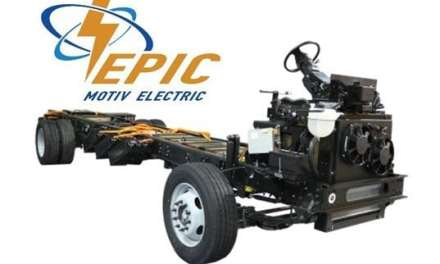 Motiv Power Systems Debuts EPIC™ All-Electric Family of Chassis for Trucks and Buses