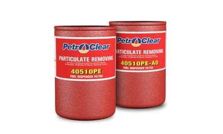 New E85-Compatible Spin-On Dispenser Filters  from PetroClear® Promote Fuel System Integrity