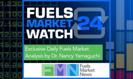 Fuels Market Watch 24, October 10th Edition