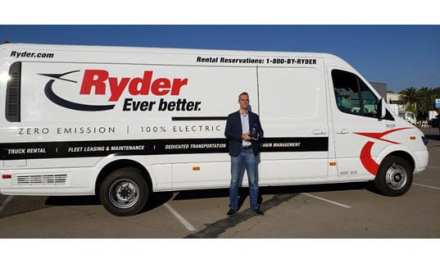 Ryder Receives 2018 Green Fleet Award