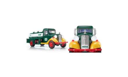 Hess Announces Collector's Edition First Hess Truck, Now On Sale